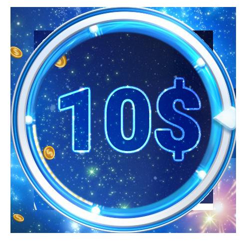 Бонус 10 долларов новым игрокам сразу за первый депозит на 888poker.